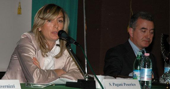 Sabrina Pagani e Alfredo Mantovano