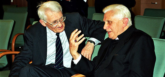 Ratzinger e Habermas