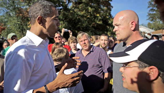 Joe The Plumber con Barack Obama