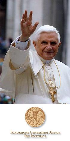 Benedetto XVI e la Fondazione Centesimus Annus Pro Pontifice